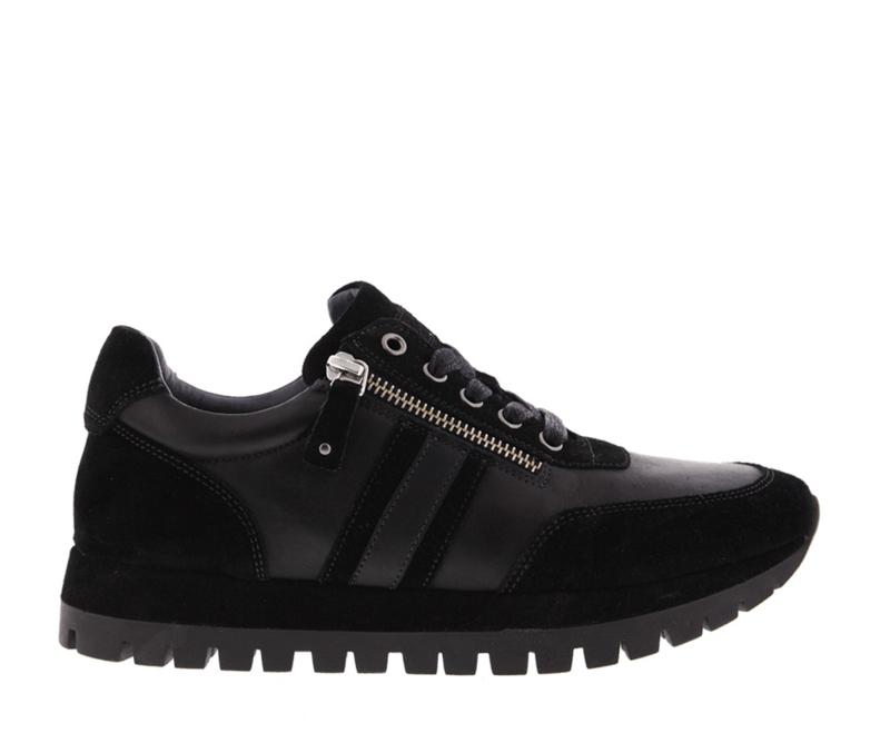 AQA sneakers | Black Velvet