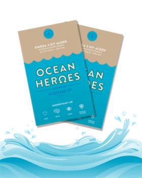 Ocean Heroes - Veganistische Omega-3 Algenolie DHA + EPA - 120 Capsules