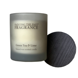 Candle NO 52 Green Tea & Lime White