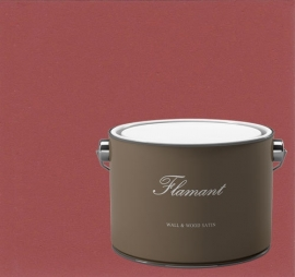 P39 Balmoral Red - Flamant Lack Wall & Wood Satin