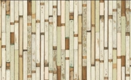 Arte Scrapwood Wallpaper 1