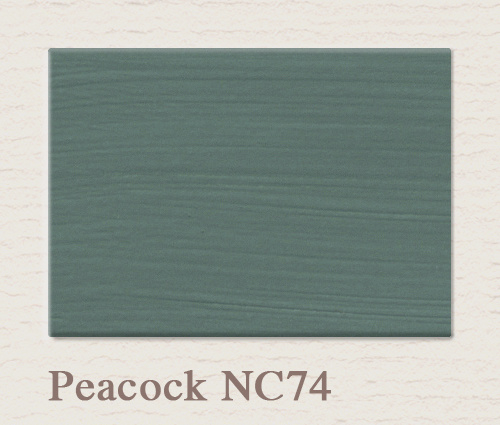 NC 74 Peacock -  Painting the Past Wandfarbe