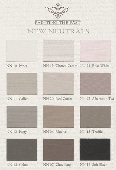 Farbkarte New Neutrals Painting The Past