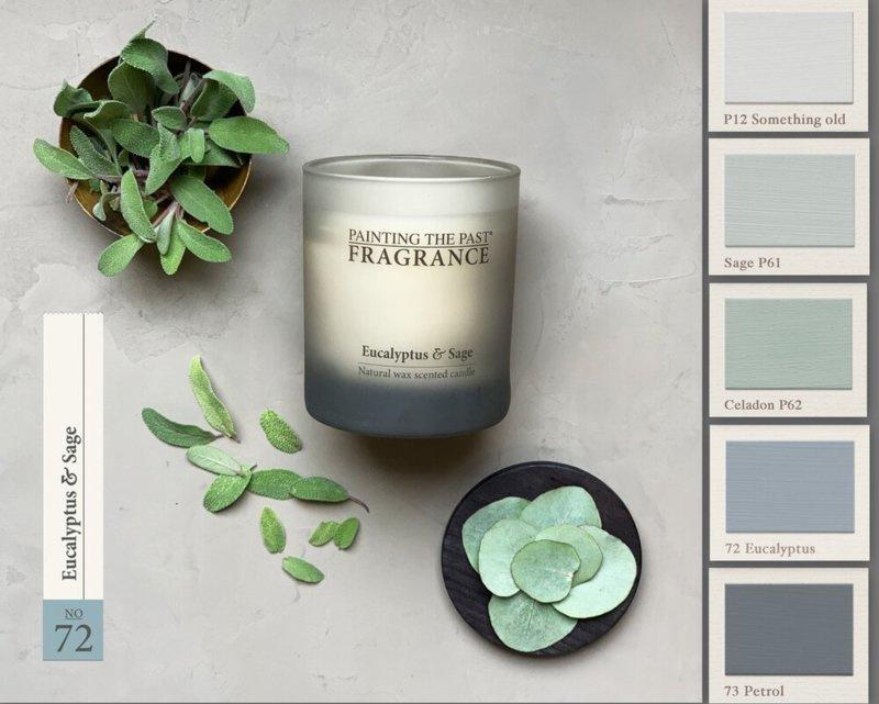 Candle NO 72 Eucalyptus & Sage