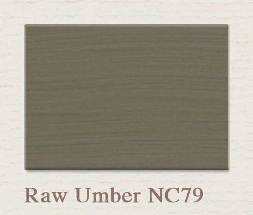 NC 79 Raw Umber - Painting the Past Lack