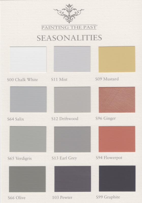 Farbkarte Seasonalities Painting the Past