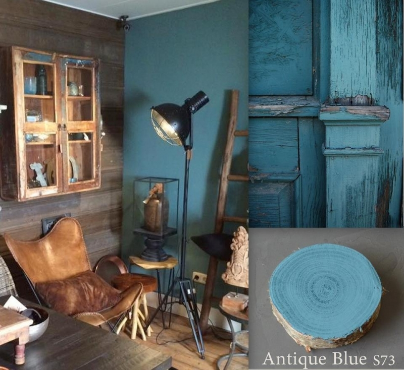 SC 73 Antique Blue -  Painting the Past Wandfarbe
