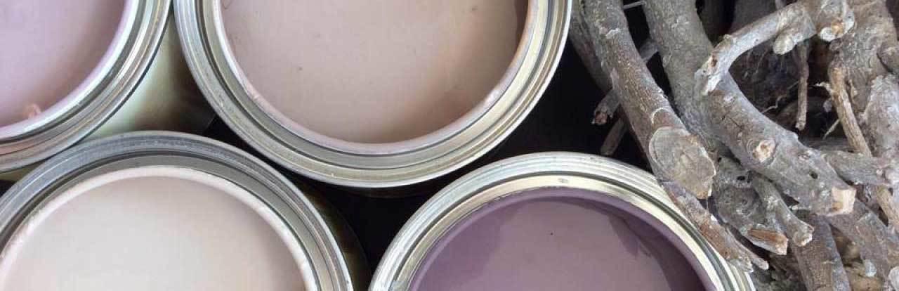 Kreidefarbe streichen