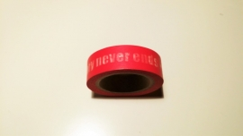 Washi Tape The story never ends