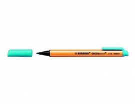 Stift-pen in de kleur turquoise