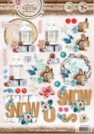 3D Stansvel A4 Sweet winter season 496 Studio Light