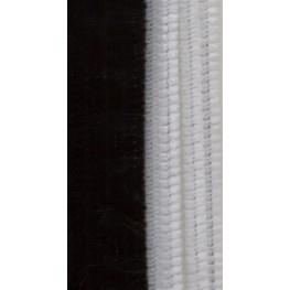 Chenille draad set Zwart/Wit