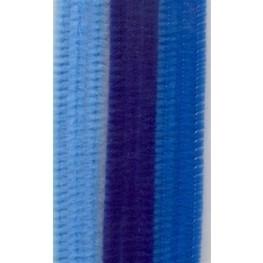 Chenille draad set Blauw