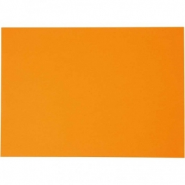A4  karton 180gr Mandarijn oranje