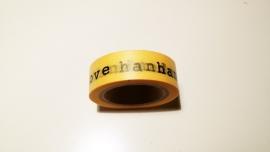 Washi Tape Handmade with love