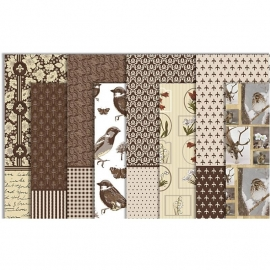 Decoupage papier set Oslo