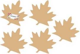 Bladeren set van 5 Dutch Doobadoo