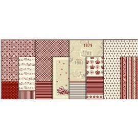Decoupage papier set Copenhage
