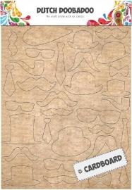 Snorren en diversen van karton