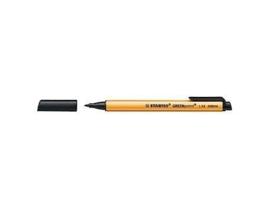 Stift-pen in de kleur zwart