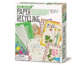 Zelf papier maken (Green Creativity)