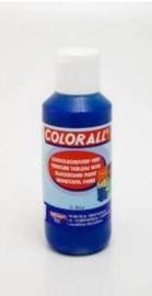 Schoolbordverf blauw  (100ml) Colorall