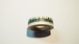 Washi Tape Muzieknoten
