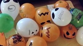 Griezelige ballonnen