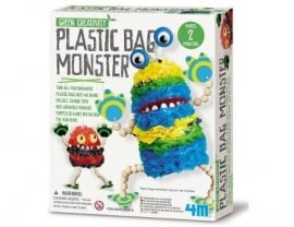 Plastic tassen monster (Green Creativity)