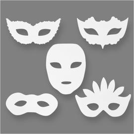 Maskers Theater 16 stuks
