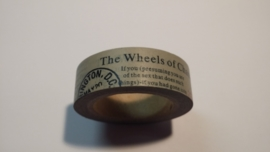 Washi Tape The wheels of chance