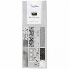 Decoupage papier set Paris