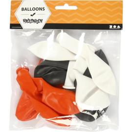 Ballonnen Halloween 10 stuks