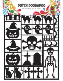 Paper Art Halloween A5