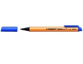 Stift-pen in de kleur blauw