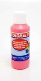 Schoolbordverf roze  (100ml) Colorall