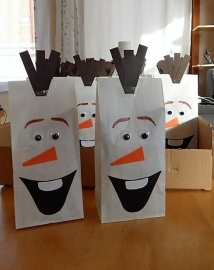 Traktatie Olaf / Frozen zakjes
