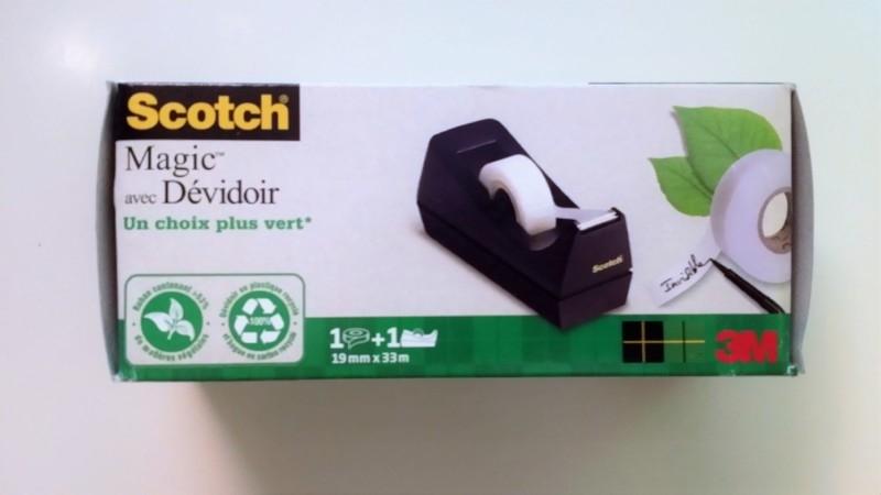 Plakbandhouder met eco-plakband