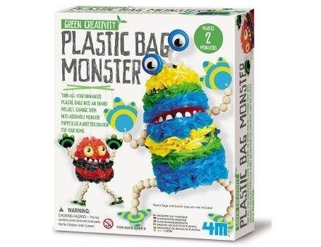 Plastic tassen monster (Green Creativity)