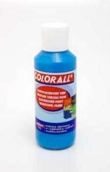 Schoolbordverf licht blauw  (100ml) Colorall