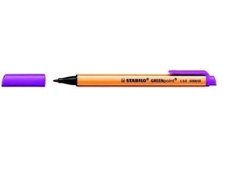 Stift-pen in de kleur paars