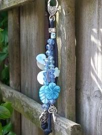 hemels blauw parelmoer bloem