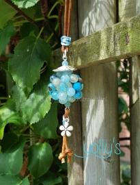 Turquoise Agaat bloembal