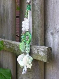 lente groene tassenhanger