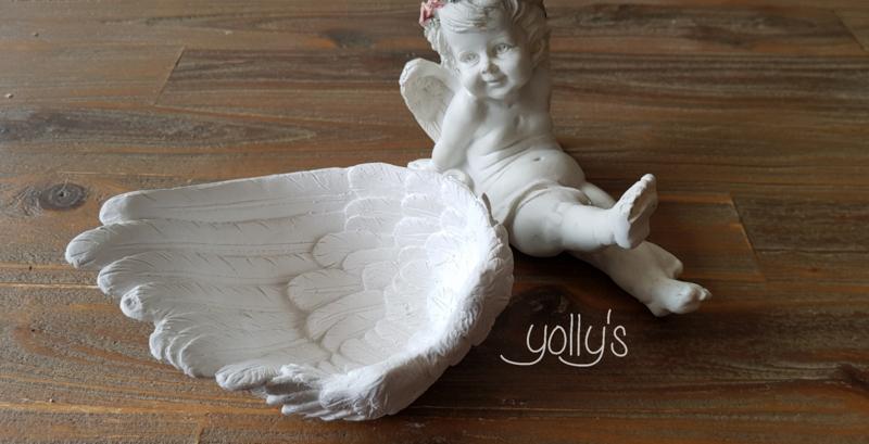 Engelen vleugel schaaltje