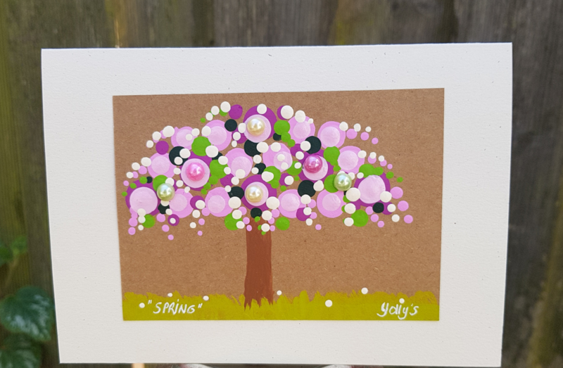 """Springtime"" kaart"