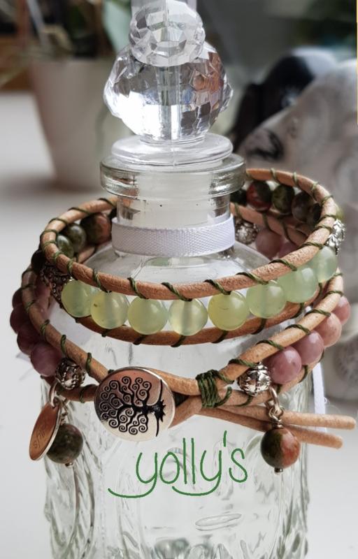 Jade  wrap armband