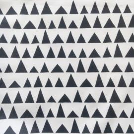 Aankleedkussenhoes ditta zwart/wit