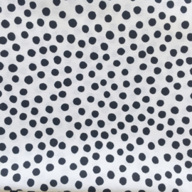 Boxkleed dots zwart/wit