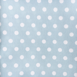 Rond boxkleed dots mint